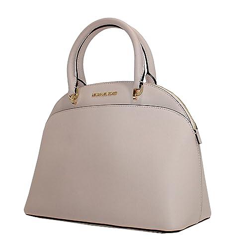4340837b7e06 MICHAEL Michael Kors EMMY Women's Shoulder Handbag LARGE DOME SATCHEL  (Ballet)