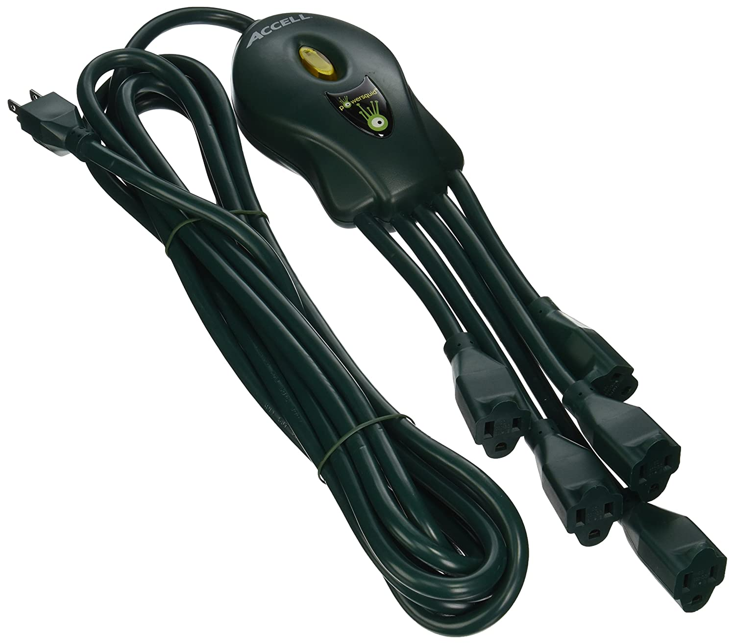 Accell D080B-007K-R PowerSquid Outlet Multiplier