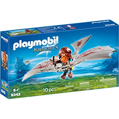 PLAYMOBIL Dwarf Flyer: Toys & Games