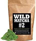 Organic Matcha Green Tea Powder, Wild Matcha #2 Culinary Grade, Authentic Japanese Matcha Grown In The Mountains of Kyoto, Japan, JAS Certified Organic (4 ounce)