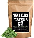 Organic Matcha Green Tea Powder, Wild Matcha #2 Culinary Grade, Authentic Japanese Matcha Grown In The Mountains of Kyoto, Japan, JAS Certified Organic (2 ounce)