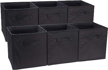 0ded7b35db12 Amazon.com: Anya Nana Easy Collect Box 6 Pack Foldable Cloth Storage ...