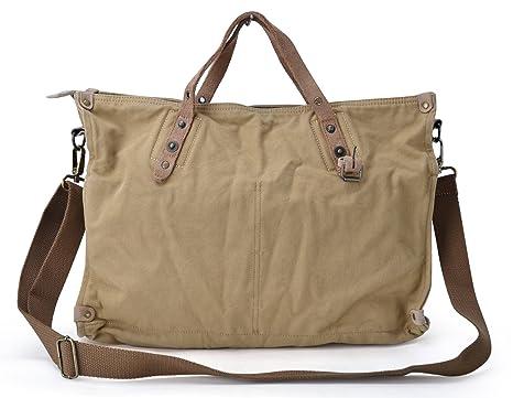Gootium Unisex Vintage Style Canvas Messenger Bag Women s Shoulder Bag  Cross Body Handbags 3fe8335585b75