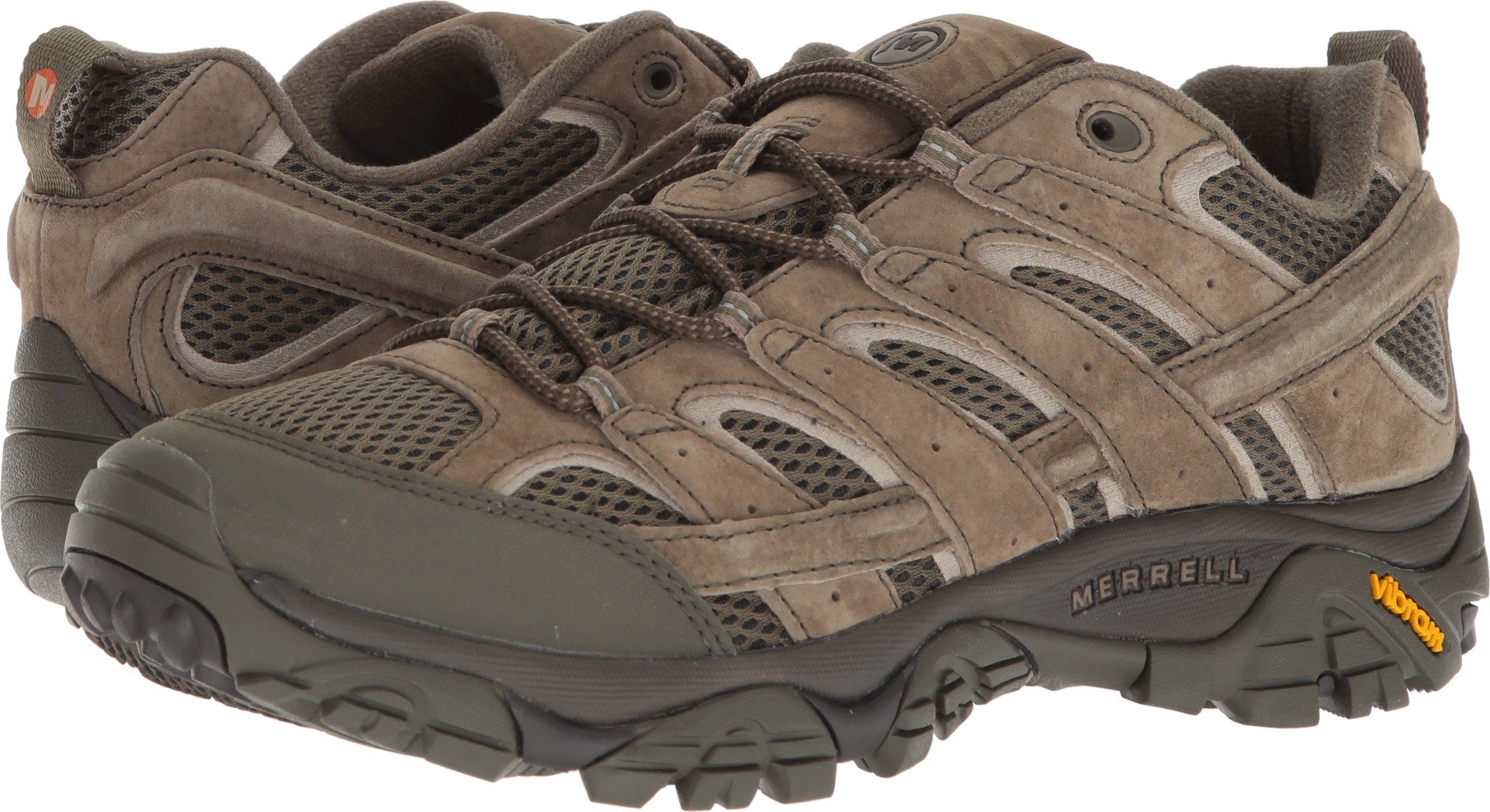 Merrell Men's Moab 2 Vent Hiking Shoe (11.5 D(M) US, Dusty Olive)