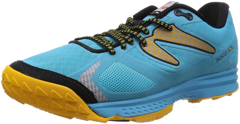 [ニュートンランニング] Newton Running トレイルランニングシューズ BOCO SOL[メンズ] B00JUA5N9E 27.0 cm ブルー/イエロー