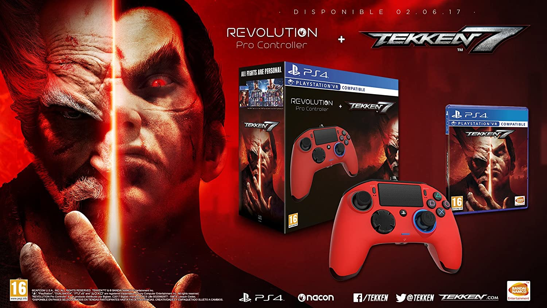 Tekken 7 + Revolution Pro Controller: Amazon.es: Videojuegos