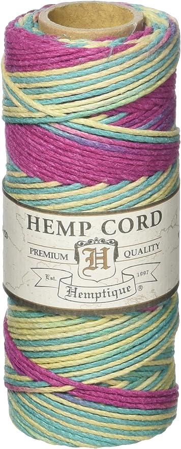 Hemptique Hemp Cord Eco Friendly Twine 62.5m Spool Harvest