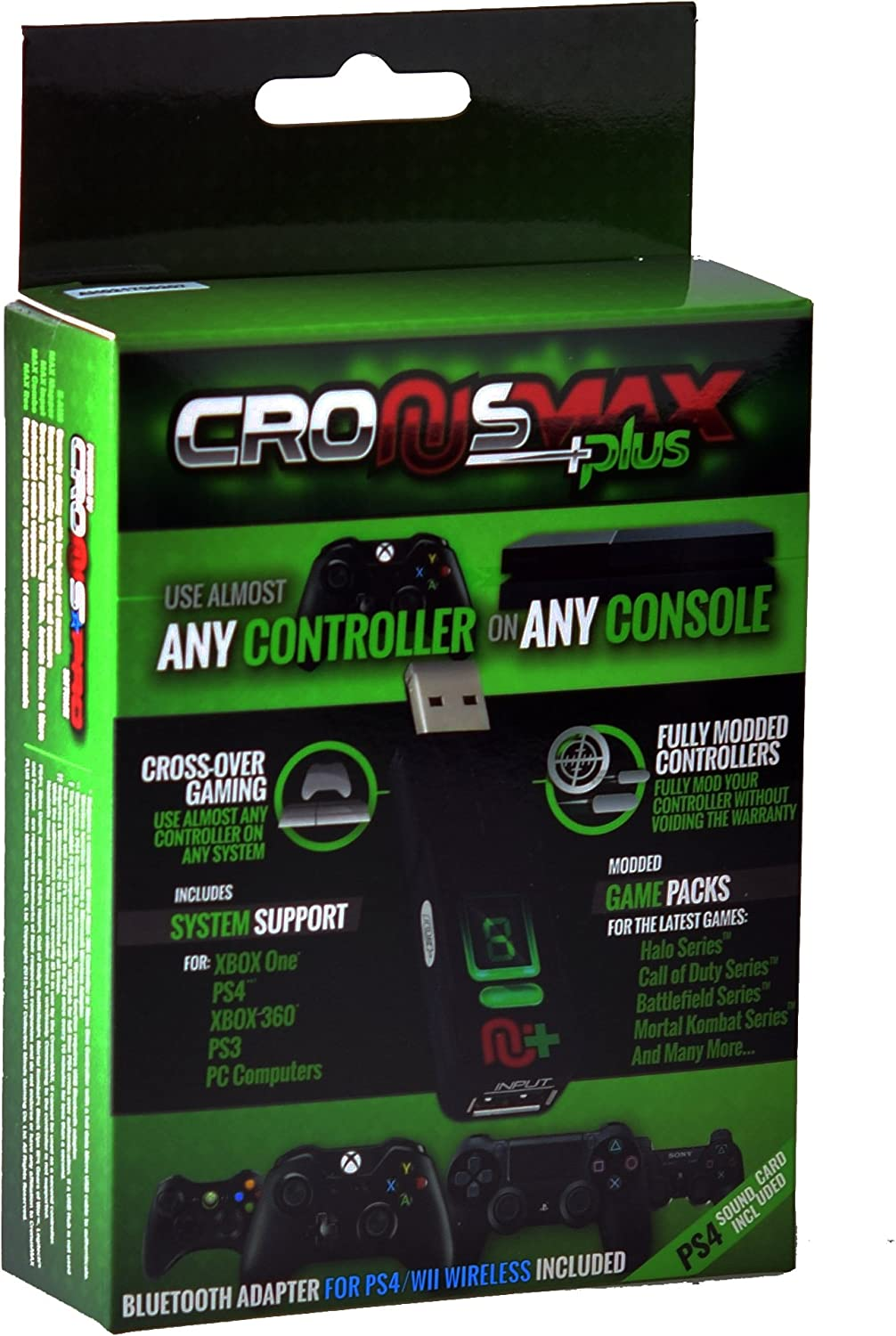 Cronusmax Plus Game Adapter for PS4 PS3 Xbox One 360 with Add On ...