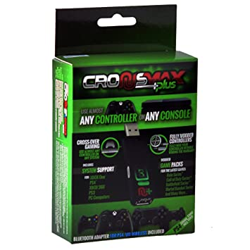 Cronusmax Plus Game Adapter for PS4 PS3 Xbox One 360 with Add On Pack