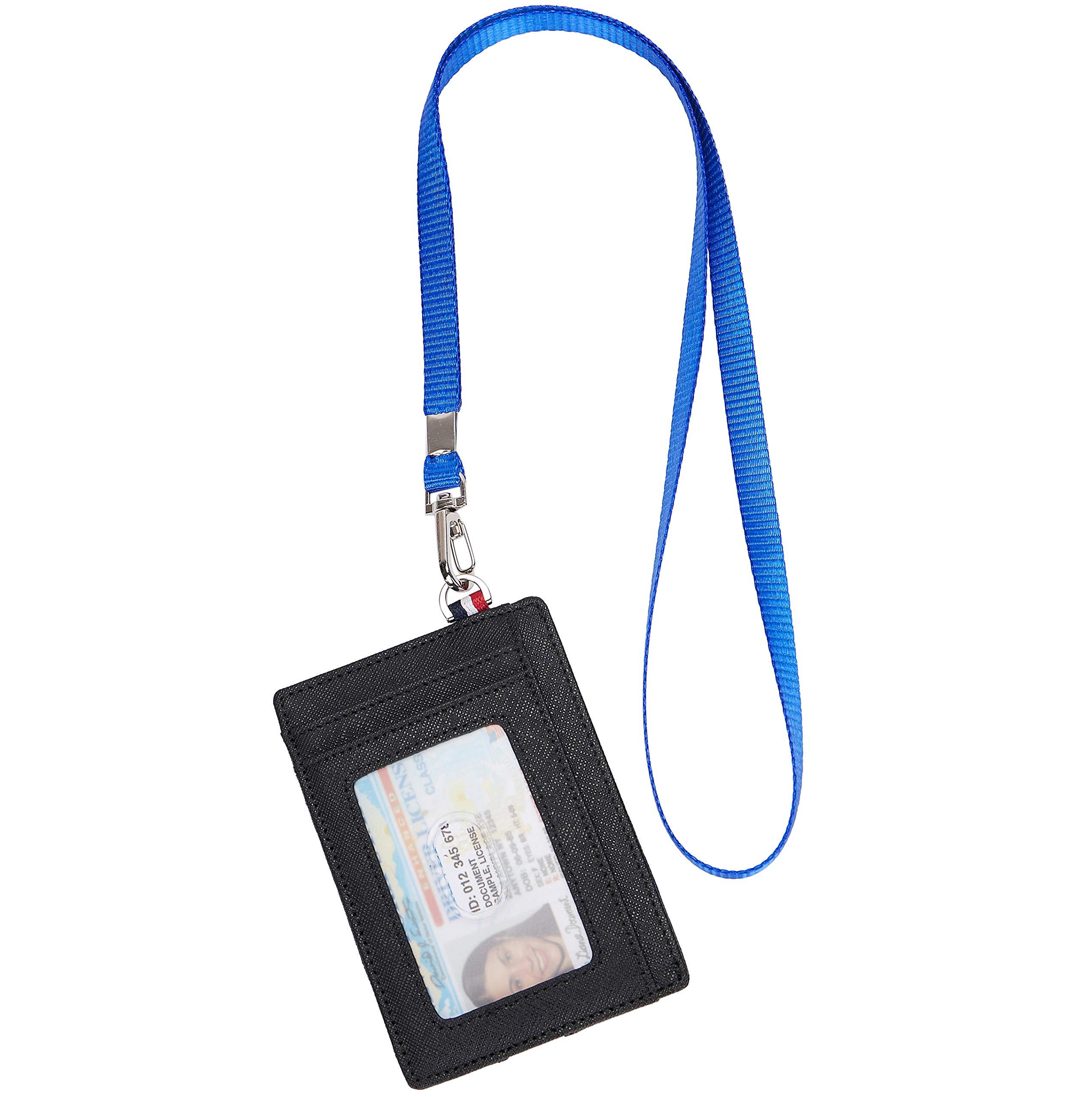 Small RFID Blocking Minimalist Credit Card Holder Pocket Slim Wallets for Men & Women by NEUX (Image #6)