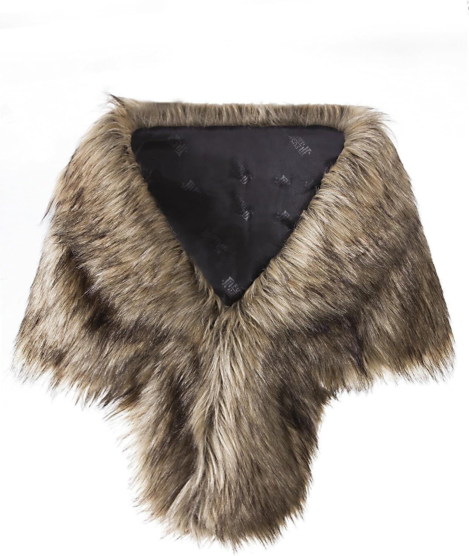 Vijiv Women's Faux Fur...