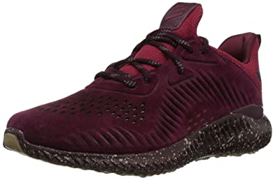 58bec3dc3 adidas Men s Alphabounce LEA Running Shoe Maroon Trace Khaki White 8 ...