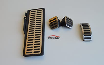 CAIXCAR P002I KIT DE PEDAL REPOSAPIES APOYAPIES CAMBIO MANUAL: Amazon.es: Coche y moto