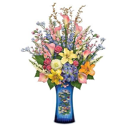 Amazon Claude Monet Art And Lifelike Floral Arrangement Lights