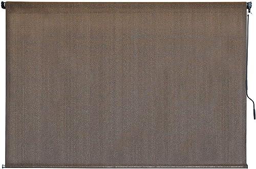 Keystone Fabrics P7720 Outdoor Cordless Sun Shade, 84 W x 72 H, Cabo Sand