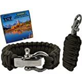Paracord Grenade And Paracord Bracelet Set By The Camping Trail. Over 21 Ft Of Paracord And 17 Pieces Make This Great Survival Gear To Carry.