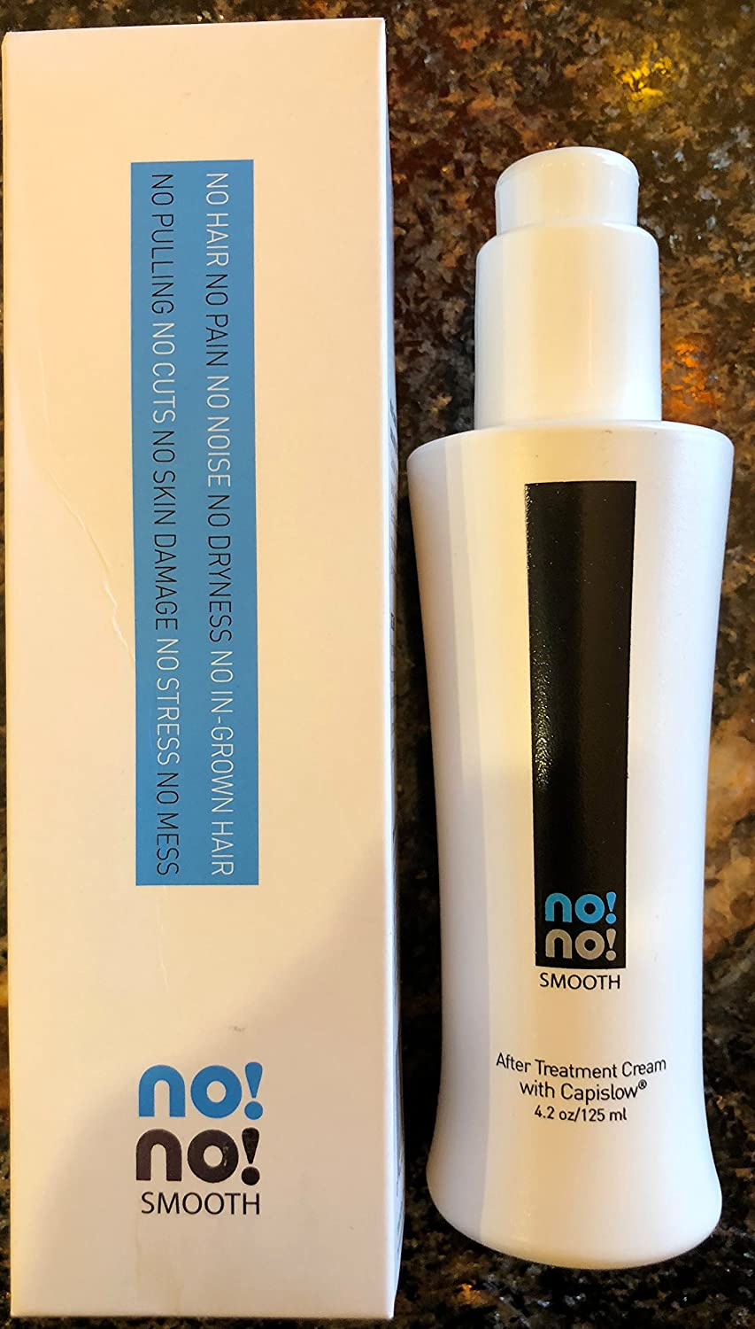 Amazon.com : NO!NO! Smooth After Treatment Cream with Capislow 4.2 oz. :  Bath And Shower Product Sets : Beauty