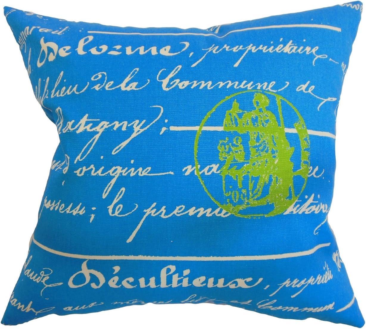 Sunny Natural The Pillow Collection Saloua Typography Pillow