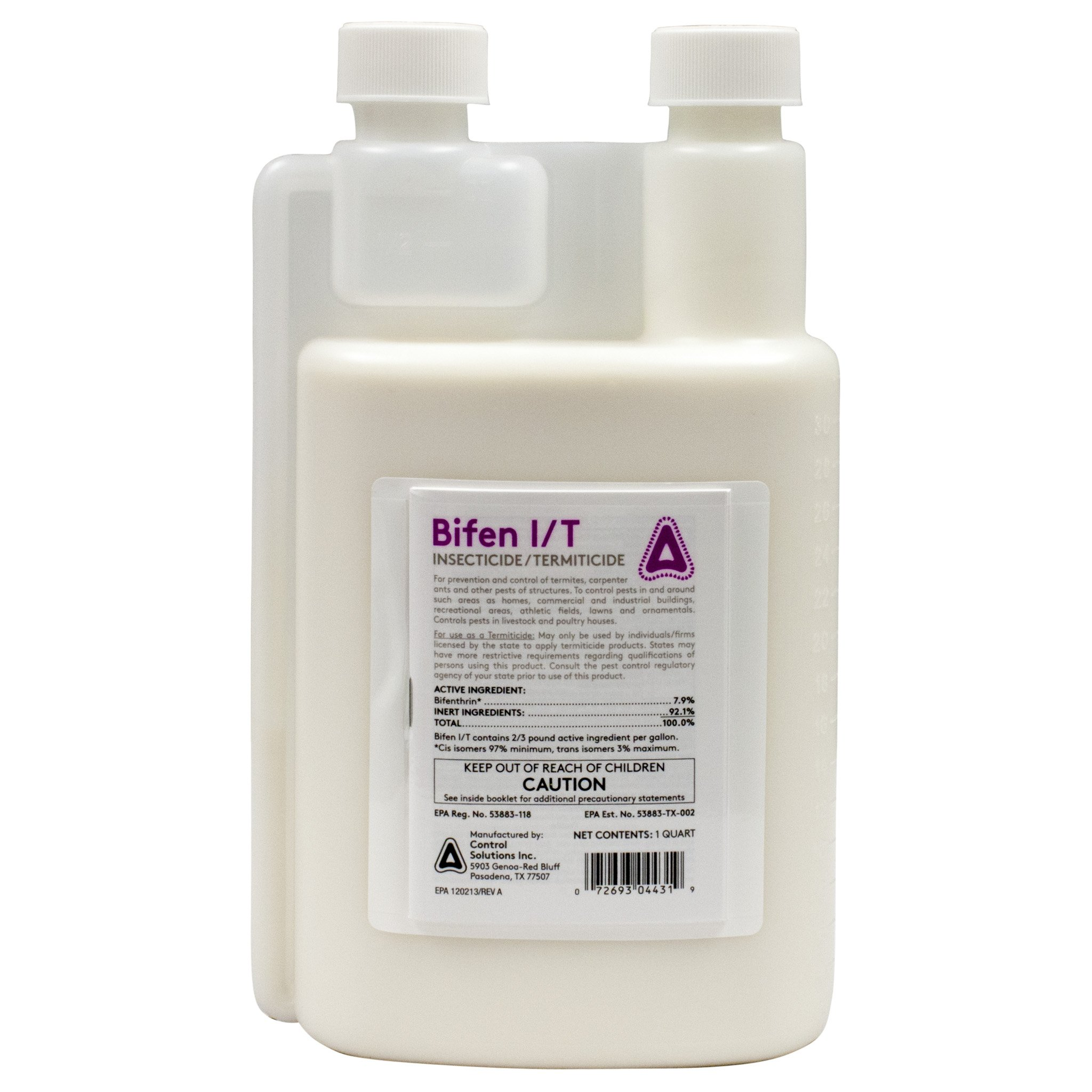 Bifen I/T Insecticide-Bifenthrin Equivalent to Talstar PRO-Quart by CSI