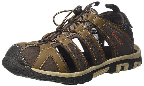 Hi-Tec Men's Cove Breeze Hiking Sandals, Brown (Chocolate/Brown/Burnt