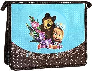 Masha and the Bear Folder for notebooks A4 Bag Pack Kindergarten Pencil School