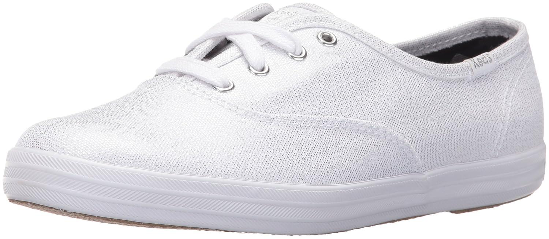 Keds Women's Taylor Swift Metallic Canvas Fashion Sneaker B01BD1KQ5S 10 B(M) US|White