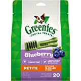 Greenies ScaryBerry and Blueberry Natural Dental Dog Treats, 6oz & 12oz Packs