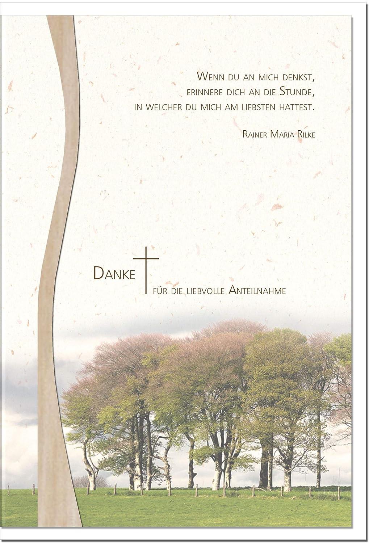 MetALUm Danksagungskarten Danksagungskarten Danksagungskarten TRAUER   Bäume   25 Karten   1525020 B01BP970VG | Abrechnungspreis  6ccb2d