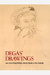 Degas' Drawings (Dover Fine Art, History of Art) Kindle Edition