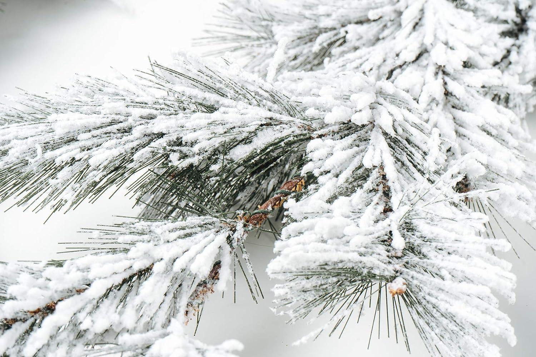 6 Feet CraftMore Fairmont Pine Garland with White Snow