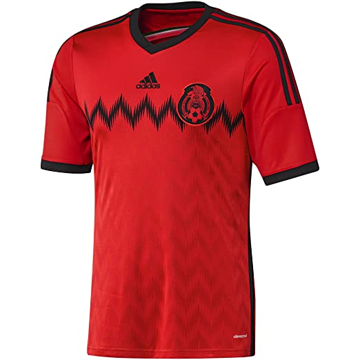 c7b4fb692d5 Amazon.com  adidas Mens Mexico Away Jersey World Cup 2014  Clothing