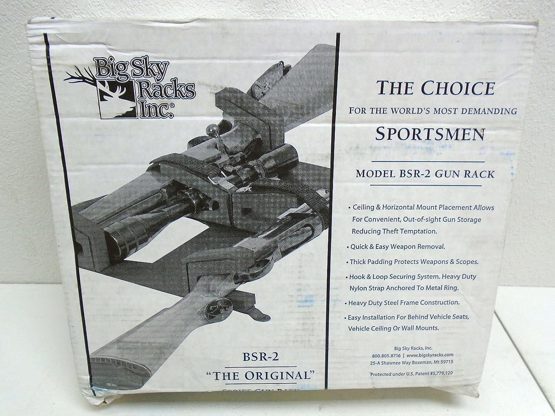 Big Sky BSR-2 Gun Rack 2-Gun Overhead: Sports & Outdoors