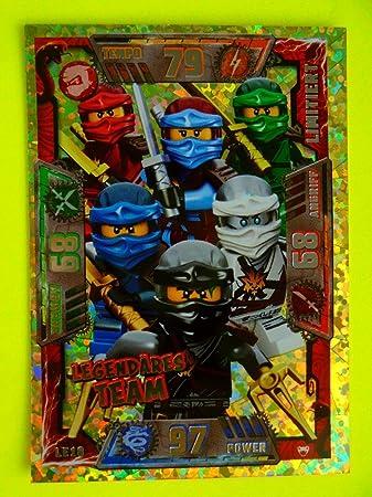 Lego Ninjago Serie 2 Trading Card Game Le10 Legendäres Team