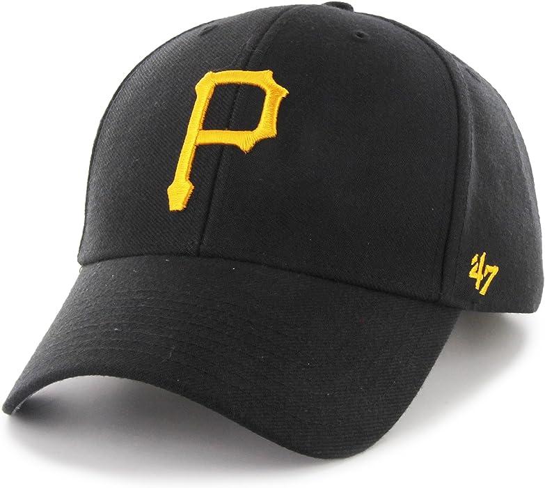 huge discount e5e2f 33ef4 Amazon.com  Pittsburgh Pirates MVP Adjustable Cap  Clothing