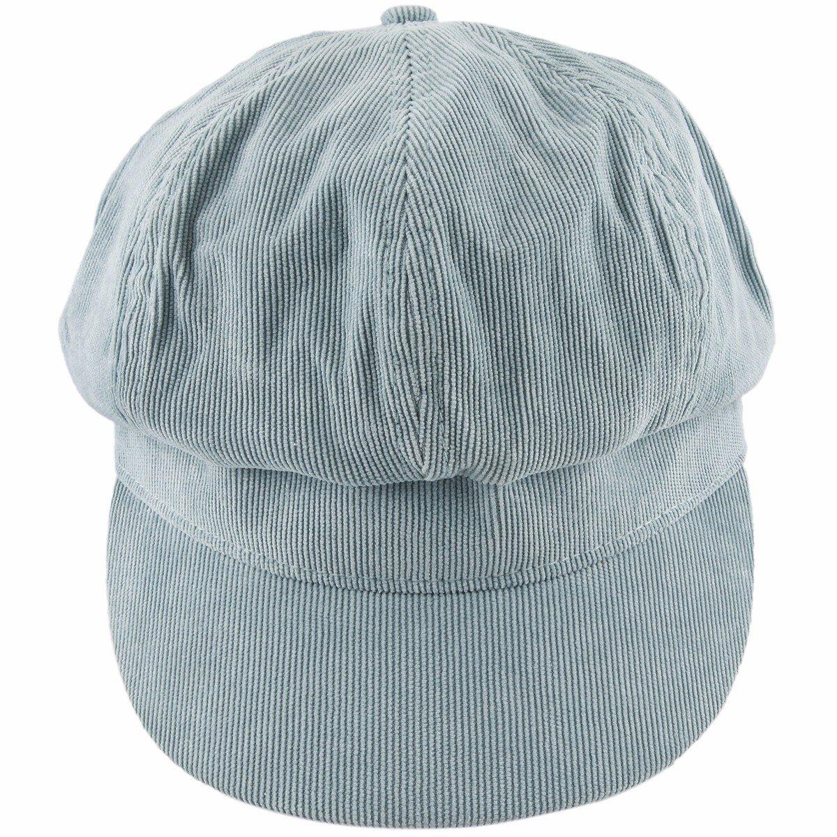 Samtree newsboy Cap For Women,8 Panel IVY Cabbie Beret Visor Brim Hat AM0503-1