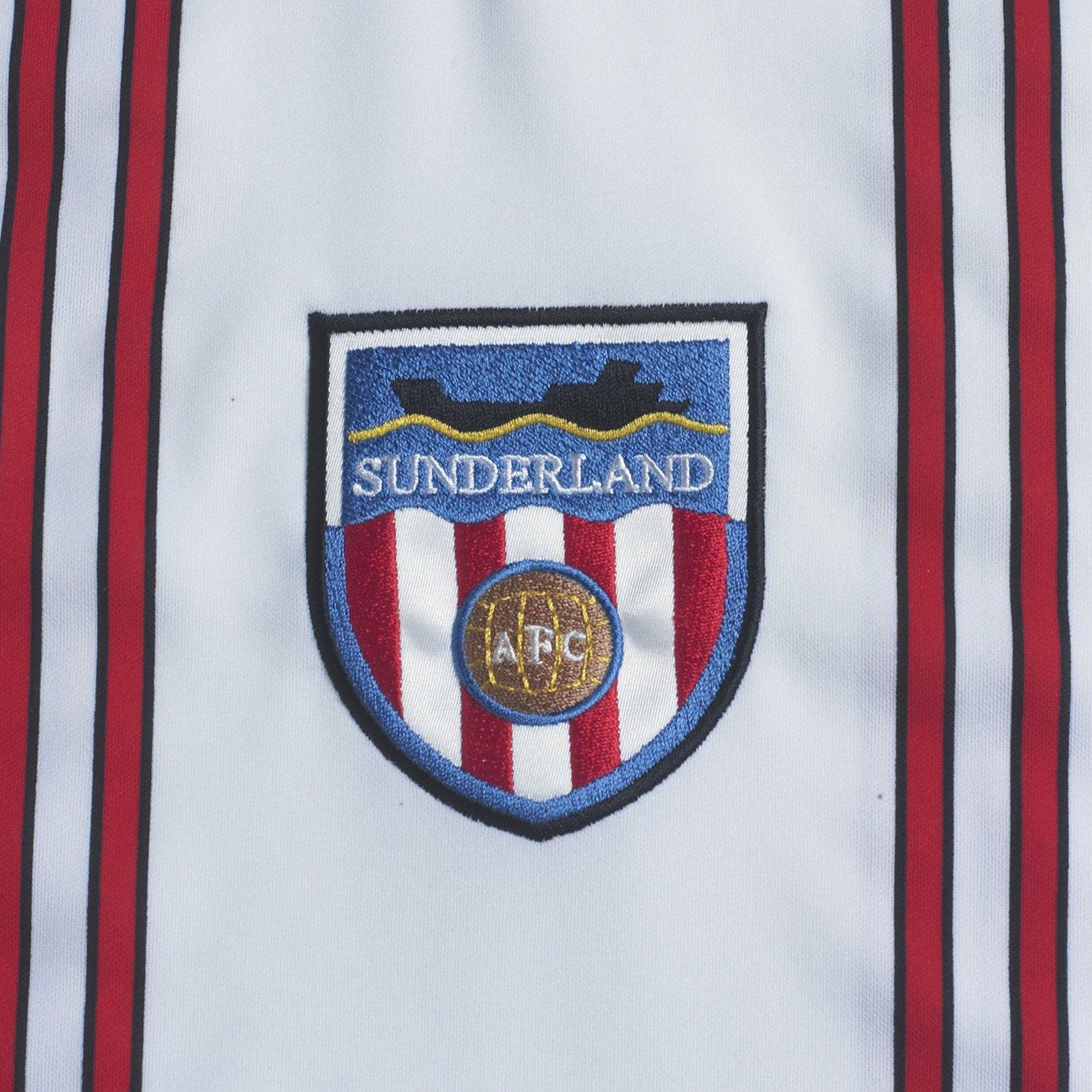 d33dada4f Score Draw Official Retro Sunderland Mens 1982 shirt - Small