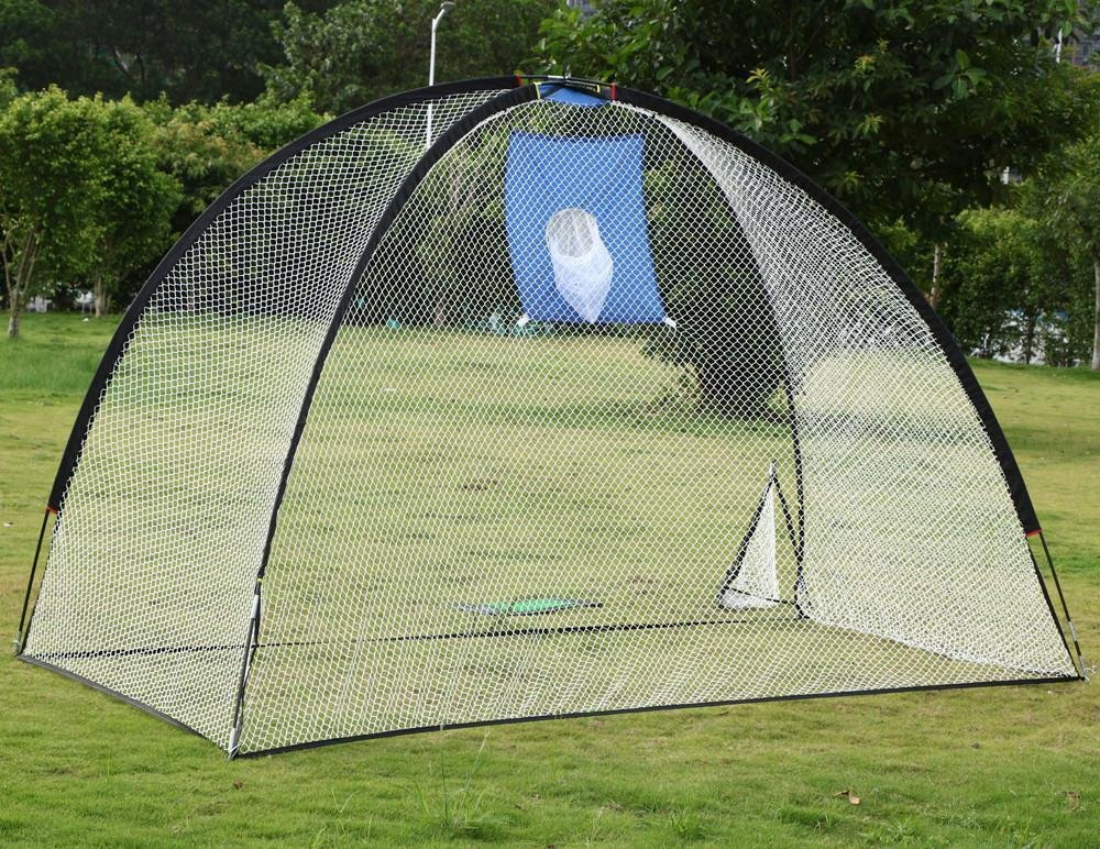 Yaheetech 3 in 1 Golf Practice Set Training Set Mat Driving Net Chipping Net- free 4 Nails by Yaheetech (Image #9)