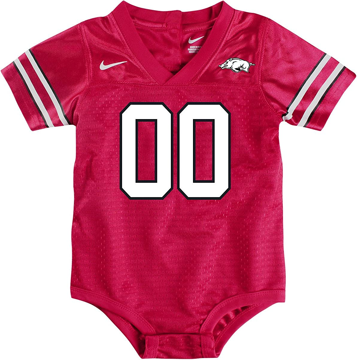 NIKE Arkansas Baby Football Jersey