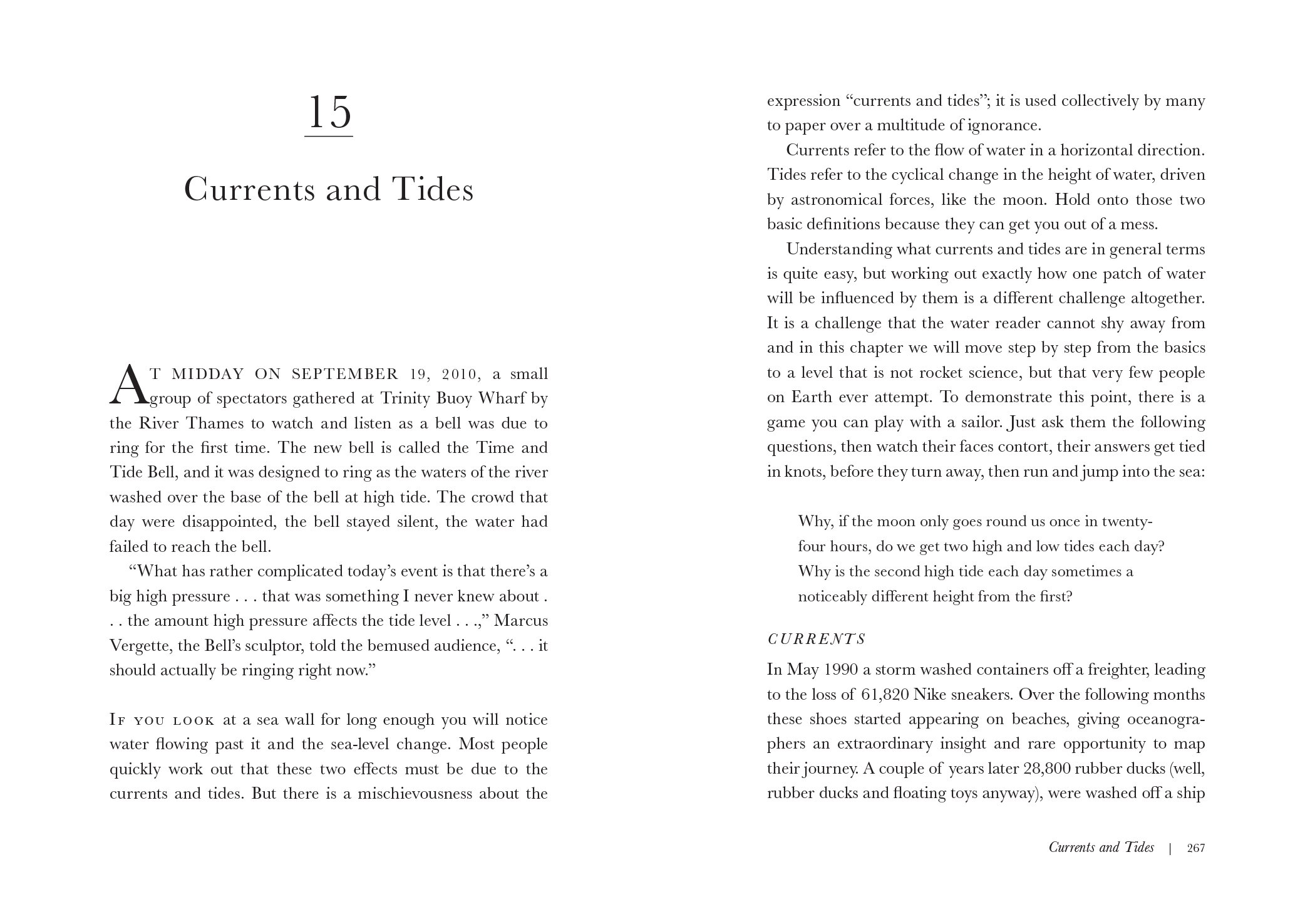 How to read water clues and patterns from puddles to the sea how to read water clues and patterns from puddles to the sea tristan gooley 9781615193585 amazon books fandeluxe Gallery