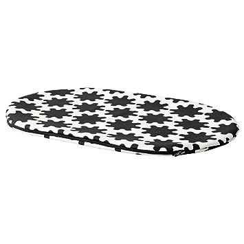 IKEA ASIA LURVIG - Funda para Cama de Mascota, Color Blanco y Negro: Amazon.es: Productos para mascotas