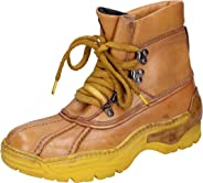 MOMA Boots Womens Leather Yellow