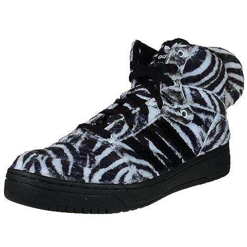 Adidas Jeremy Scotts Produkter jag älskar 2019         Tiger skor   Tiger shoes          adidas Jeremy Scott Zebra Mens in BlackWhite