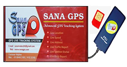 Sana GPS Tracker With Free One Year Software and Sim