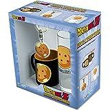 ABYstyle–Dragon Ball Mini-mug con Llavero y Vaso Crystal, abypck123