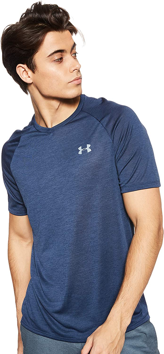 Under Armour Mens Tech 2.0 V-Neck Short-Sleeve T-Shirt: Clothing