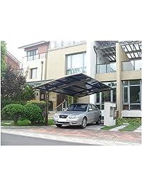 10u0027 X 20u0027 Metal Carport Tent Shelter Attached Carport Metal Aluminum With  Gutter And