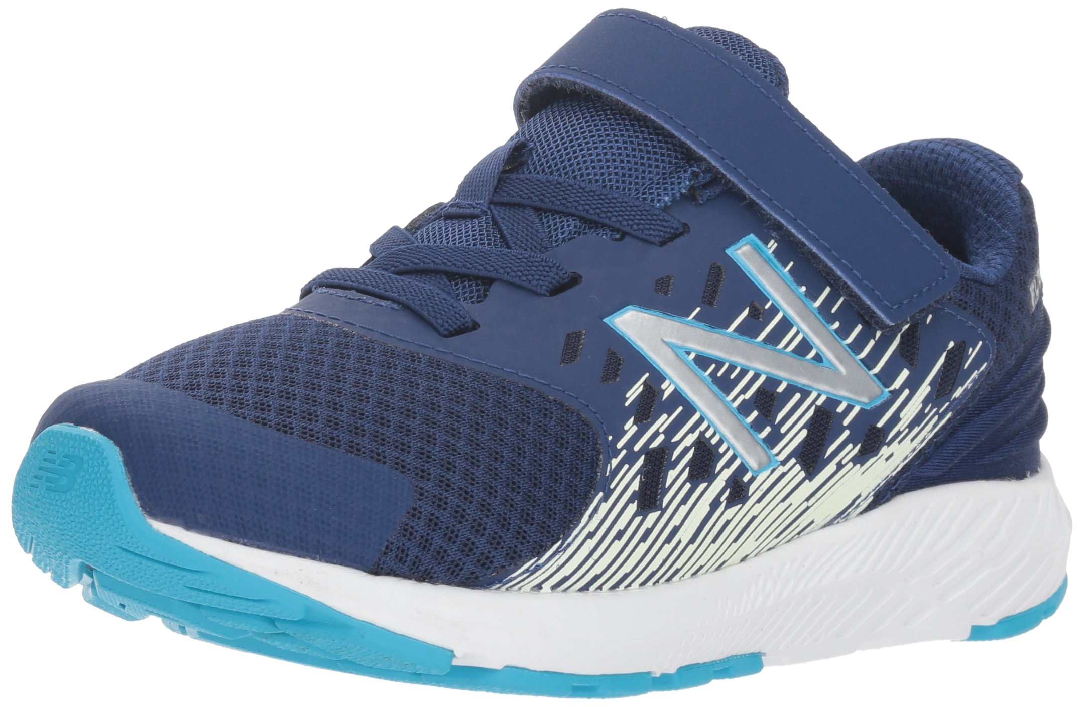 New Balance Boys' Urge V2 FuelCore Running Shoe, Techtonic Blue, 7.5 M US Toddler
