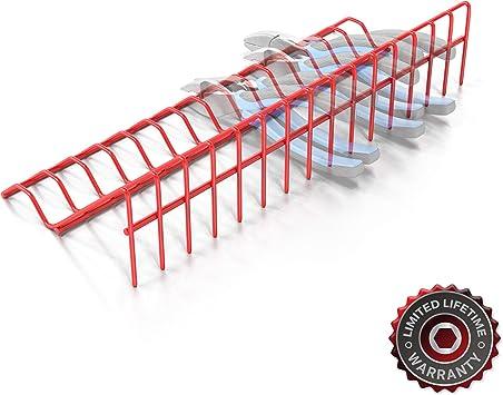 Tool Box Organizer 4 Shelf Drawer Liner Storage Plastic for Small Medium Parts