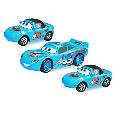 Disney Dinoco Dream Pullback Die Cast Cars 3-Pack - Cars: Toys & Games