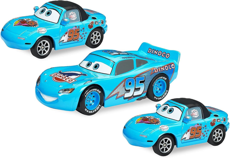 Disney Dinoco Dream Pullback Die Cast Cars 3-Pack - Cars: Amazon.es: Juguetes y juegos